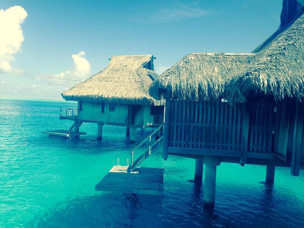 Private over-the-water lodging in Bora Bora