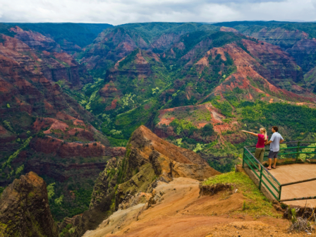 Waimea Canyon view