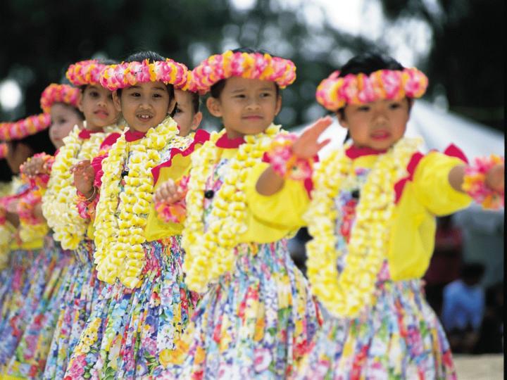 Young Keiki Hula Dancers