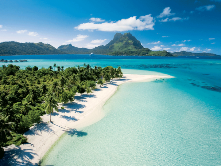 motu in Bora Bora
