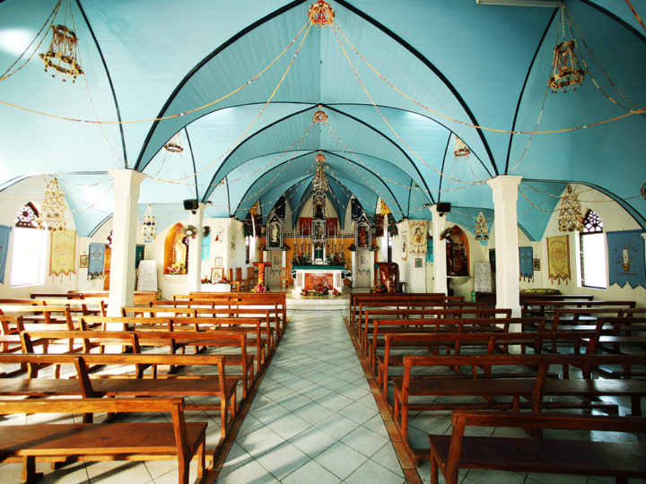Typical Tahitian Church