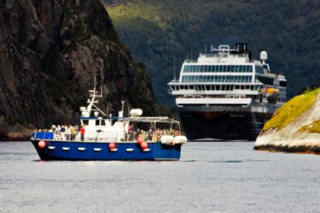 MS Trollfjord Photo: Christian Huhn