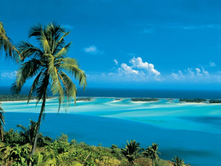 Lagoon in Bora Bora