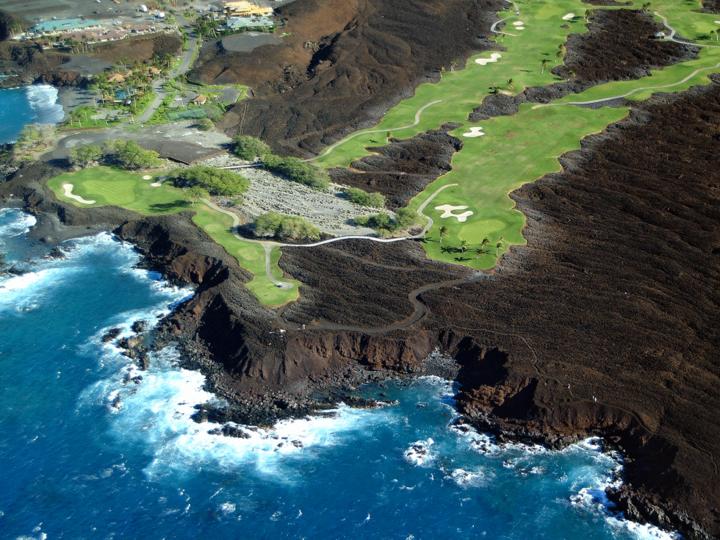 Golfing on the Big Island, Hawaii Island