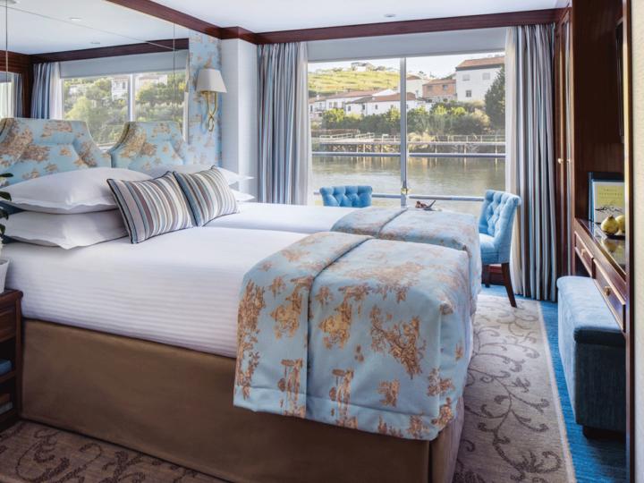 Cruise ship stateroom