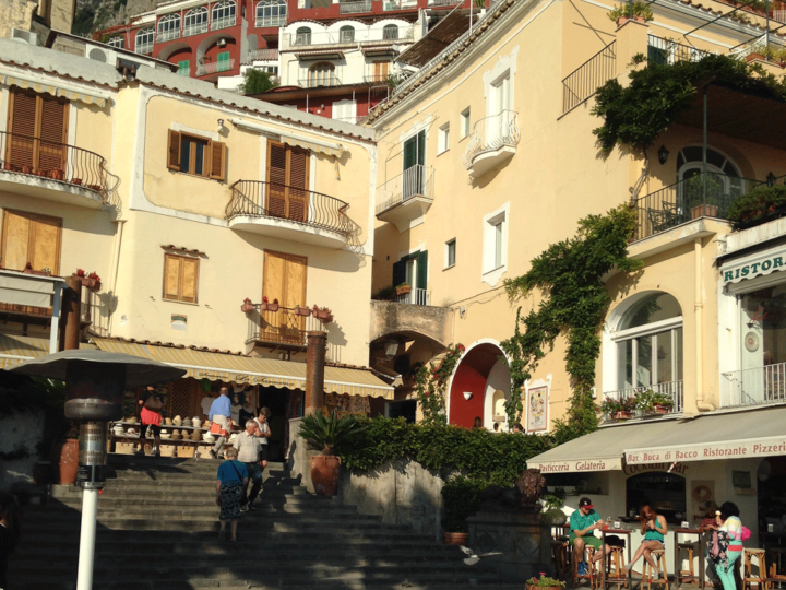 Positano, Italy on the Amalfi Coast